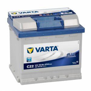ΜΠΑΤΑΡΙΑ VARTA BLUE DYNAMIC C22 52AH
