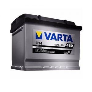 Μπαταρία Varta Black Dynamic C14 56Ah