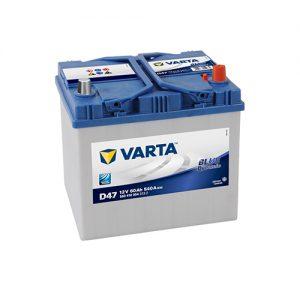 ΜΠΑΤΑΡΙΑ VARTA BLUE DYNAMIC D47 60AH