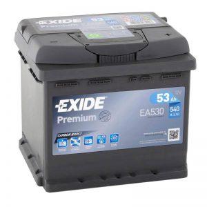 Μπαταρια EXIDE PREMIUM 53AH EA530 12V