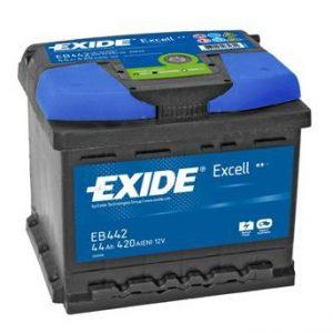 Μπαταρία Exide Excell 44Ah EB442 – 12V