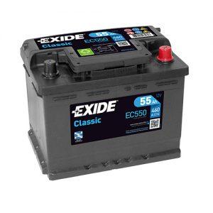 Μπαταρία Exide Classic 55Ah EC550 – 12V