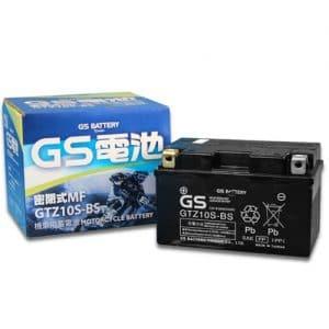 ΜΠΑΤΑΡΙΑ GS 8,6AH GTZ10S-BS (TTZ10S-BS / YTZ10S-BS)