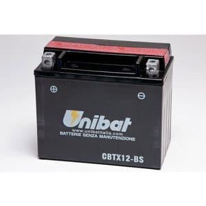 ΜΠΑΤΑΡΙΑ UNIBAT 12AH CBTX12-BS / YTX12-BS
