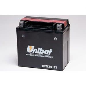 ΜΠΑΤΑΡΙΑ UNIBAT 12AH CBTX14-BS / YTX14-BS
