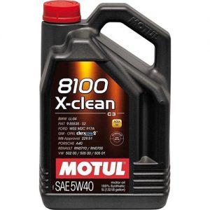 MOTUL 8100 X-CLEAN 5W-40 5L