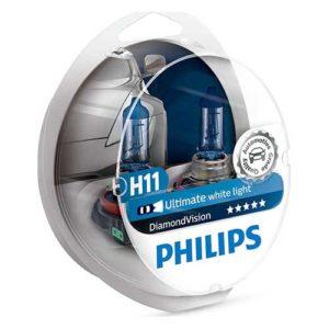 ΛΑΜΠΕΣ H11 PHILIPS  DIAMOND VISION 5000K