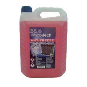 ΑΝΤΙΨΥΚΤΙΚΟ MOBITECH ANTIFREEZE -15′ C 4LT (ΚΟΚΚΙΝΟ)