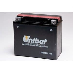 ΜΠΑΤΑΡΙΑ UNIBAT 18AH (CBTX20L-BS / YBTX20L-BS)