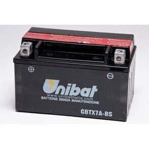 ΜΠΑΤΑΡΙΑ UNIBAT 6AH CBTX7A-BS / YTX7A-BS