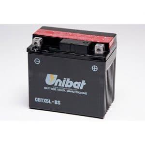ΜΠΑΤΑΡΙΑ UNIBAT 4AH (CBTX5L-BS / YTX5L-BS)