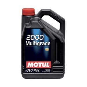 MOTUL 2000 MULTIGRADE 20W-50 4L