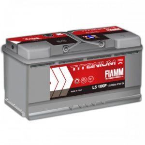 Μπαταρία Fiamm Titanium Pro 100Ah L5 100P– 12V
