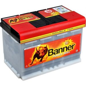 Μπαταρία Banner Power Bull PROfessional 77Ah p7740 – 12V