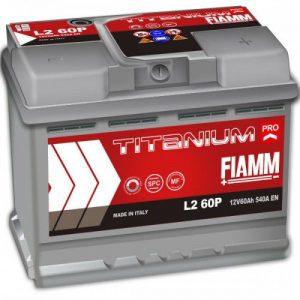 Μπαταρία Fiamm Titanium Pro 60Ah L2 60P – 12V
