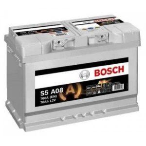 Μπαταρία Bosch AGM START-STOP S5 70Ah S5A08 – 12V