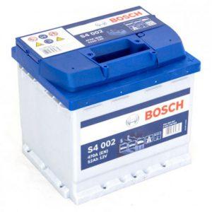 Μπαταρία Bosch S4 52Ah s4002 – 12V
