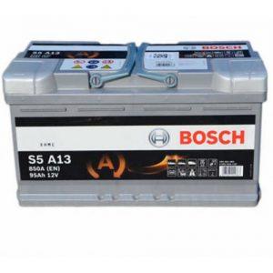Μπαταρία Bosch AGM START-STOP S5 95Ah S5A13 – 12V