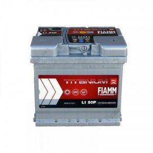Μπαταρία Fiamm Titanium Pro 50Ah L1 50P– 12V