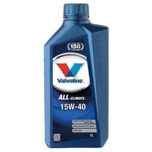 VALVOLINE ALL CLIMATE SAE 15W-40 1L