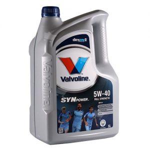 VALVOLINE SYNPOWER SAE 5W-40 5L
