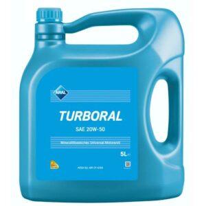 ARAL TURBORAL SAE 20W-50 5L