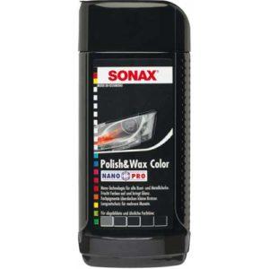 Sonax Γυαλιστικό & Κερί με χρώμα μαύρο 250ml