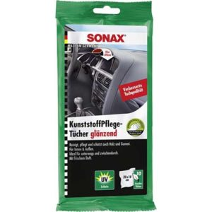 SONAX Mαντιλάκια περιποίησης πλαστικών γυαλιστερό 10 τεμ.