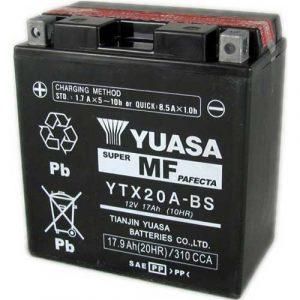 ΜΠΑΤΑΡΙΑ YUASA 17,9AH YTX20A-BS