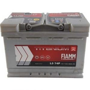 Μπαταρία Fiamm Titanium Pro 74Ah L3 74P– 12V