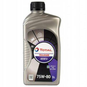 Total Traxium Gear 8 75W-80 1lt